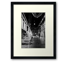 Some Quiet Time B&W Framed Print