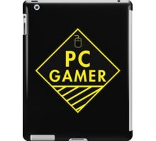 Pc Gaming (yellow) iPad Case/Skin