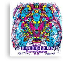 Wise Enlightened Mars Volta BRIGHT Canvas Print
