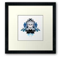 Rorschach Pinhead (Hellraiser) Framed Print