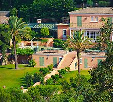 Luxury mansion on the gulf of Saint-Tropez - The French Riviera by Atanas Bozhikov Nasko