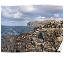 View from Meanish Pier on the Isle of Skye Poster