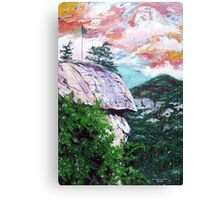 'Chimney Rock' Canvas Print