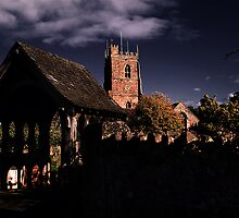 Lychgate and Tower by Country  Pursuits