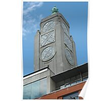 Abstract Oxo Tower Poster