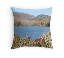 Cadillac and Dorr Mtns, Acadia National Park, ME Throw Pillow