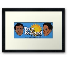 The Real Morning Talkshow Framed Print