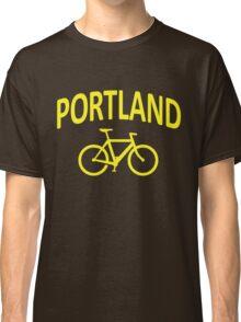 I Bike Portland, Oregon Classic T-Shirt