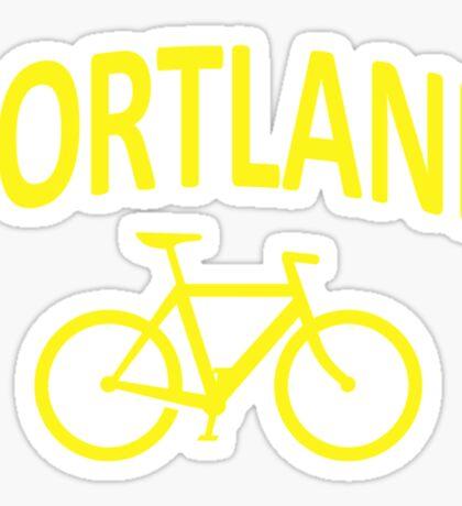 I Bike Portland, Oregon Sticker