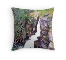 'Linville Falls' Throw Pillow
