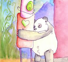 SILLY PANDA I HAVE NO FEELINGS by Jonathan Arras