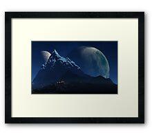 Wu Shrine Framed Print