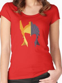 TES: Golden Seducers Women's Fitted Scoop T-Shirt
