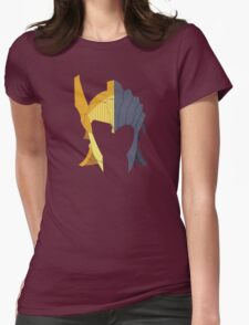 TES: Golden Seducers Womens Fitted T-Shirt