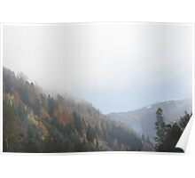 Styrian Mountains Poster