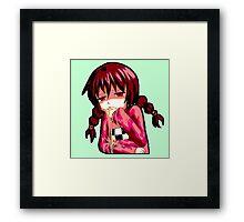 PukeGirl.jpg Framed Print