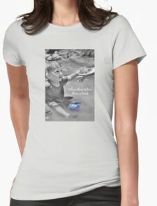 Love greeting card Womens Fitted T-Shirt