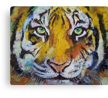 Tiger Psy Trance Canvas Print