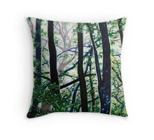 'Woods (Interior)' Throw Pillow