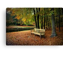 Sit Down And Enjoy Canvas Print