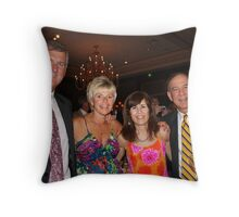 Wedding Guests Throw Pillow