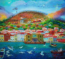 BURGAZADA YANGINI by yavuz saraçoğlu