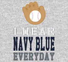 I Wear Navy Blue One Piece - Long Sleeve