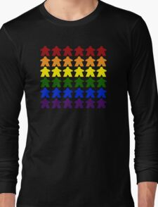 Gay Pride (Meeple Edition) Long Sleeve T-Shirt