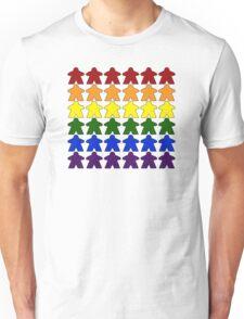Gay Pride (Meeple Edition) Unisex T-Shirt