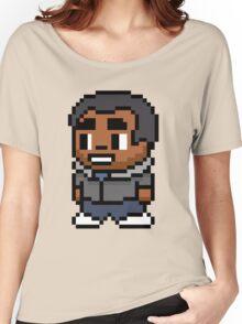 8-Bit Troy Barnes Women's Relaxed Fit T-Shirt