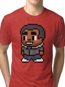 8-Bit Troy Barnes Tri-blend T-Shirt