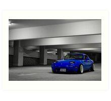 Mazda Miata Art Print