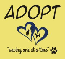 Adopt Saving On At A Time (blue) Kids Clothes