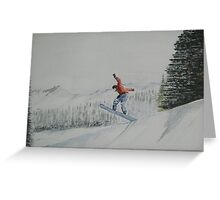 """""""Over the edge"""" Greeting Card"""