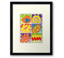 COLOURFULL 3 - GOUACHE Framed Print