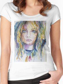 Wild Child Women's Fitted Scoop T-Shirt