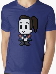 8-Bit Annie Edison  Mens V-Neck T-Shirt