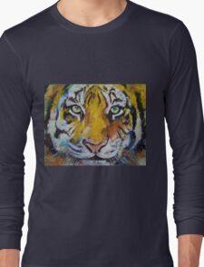 Tiger Psy Trance Long Sleeve T-Shirt
