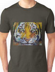 Tiger Psy Trance Unisex T-Shirt