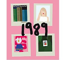 1989 song vectors Photographic Print