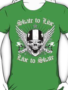 LIVE TO SKATE T-Shirt