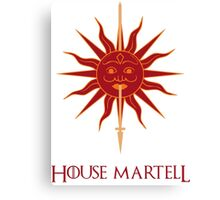 House Martell sigil Canvas Print