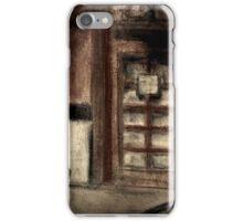 Restaurant Side Door iPhone Case/Skin