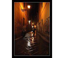 'Notte, Borgo La Noce, San Lorenzo Photographic Print