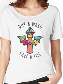 WARDS SAVE LIVES! Women's Relaxed Fit T-Shirt