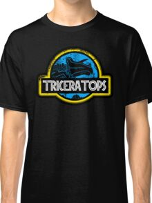 Jurassic Power Blue Classic T-Shirt