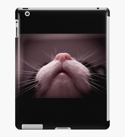 Mouth, nose and whiskers cat iPad Case/Skin
