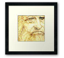 Leonardo da Vinci Framed Print