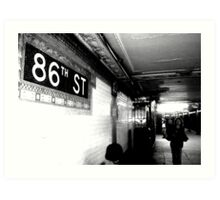 86th ST Art Print