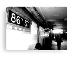 86th ST Canvas Print